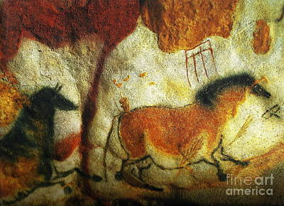 Lascaux II No. 6 - Horizontal Art Print