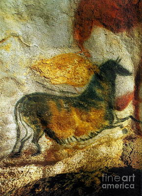Photograph - Lascaux II Number 4 - Vertical by Jacqueline M Lewis