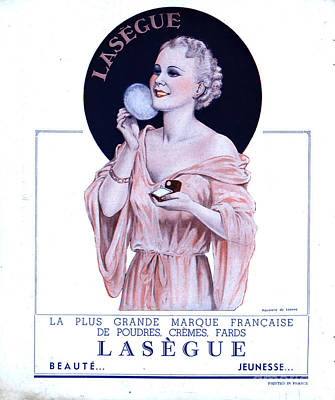 Drawing - Laseguela Vie Parisienne 1930s France by The Advertising Archives