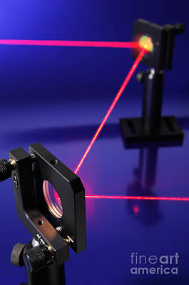 Photograph - Laser Research by GIPhotostock