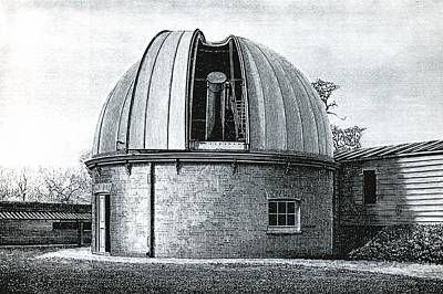 Lassell Dome At Greenwich, 19th Century Art Print by Science Photo Library