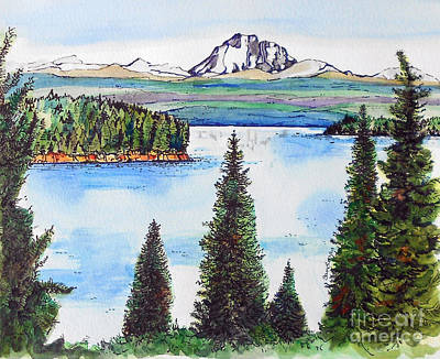 Lassen And Almanor Art Print by Terry Banderas