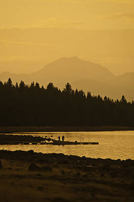Photograph - Lassen Sunset by Sherri Meyer