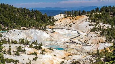 Photograph - Lassen Volcanic Bumpass Hell by Pierre Leclerc Photography