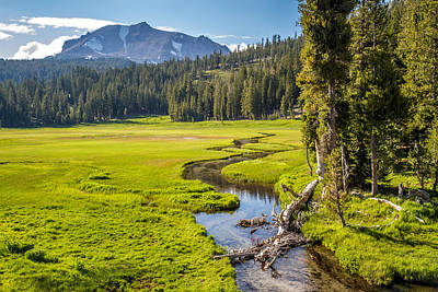 Photograph - Lassen Volcanic Meadow by Pierre Leclerc Photography