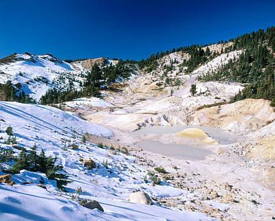 Bumpass Photograph - Lassen Volcanic National Park by Jim Corwin