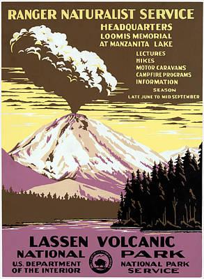 Photograph - Lassen Volcanic Poster by Granger