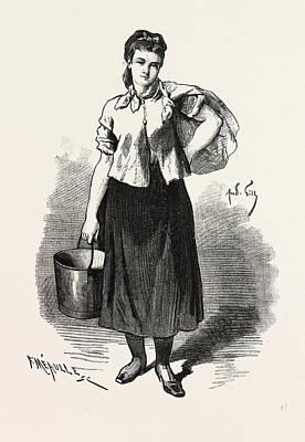Lassommoir, Gervaise, Emile Zola, 19th Century Art Print