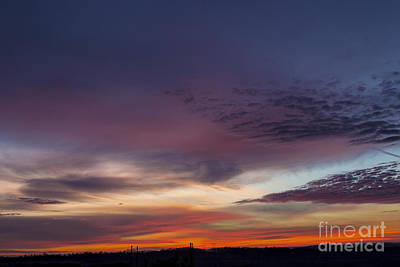 Last 2012 Sunrise Art Print