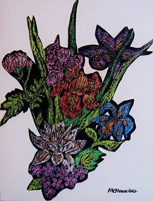 Last Bouquet Art Print