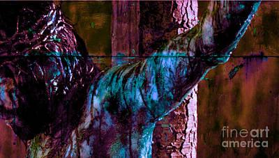 Last Breath Of Jesus 5 Art Print by Michael Grubb