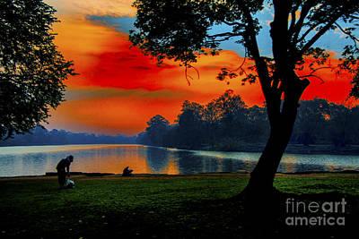 Photograph - Last Bright Light by Rick Bragan
