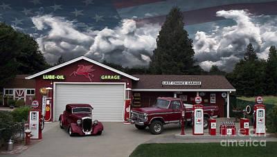 Photograph - Last Chance Garage Final by Peter Piatt