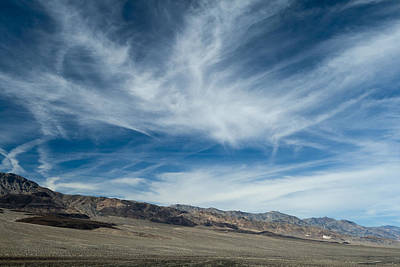 Photograph - Last Chance Range Death Valley by Greg Kluempers