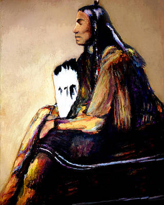 Last Comanche Chief Art Print