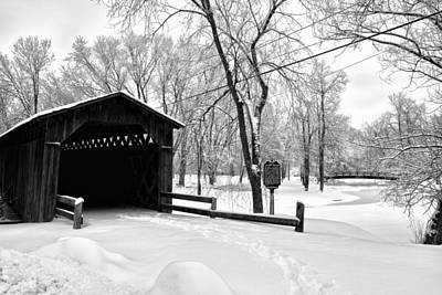 Photograph - Last Covered Bridge by Joel Witmeyer