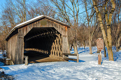 Last Covered Bridge Art Print
