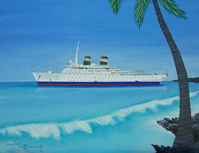 Painting - Last Cruise by Thomas F Kennedy