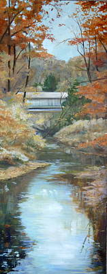 Painting - Last Days Of Fall by Denise Ivey Telep