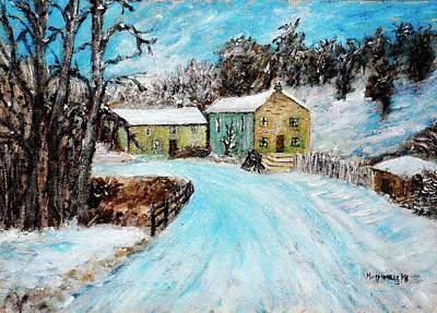 Last Days Of Winter Art Print by Mauro Beniamino Muggianu