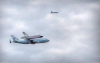 Art Print featuring the photograph Last Flight by Michael Donahue