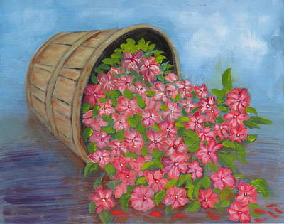 Painting - Last Flowers Of Summer by Sharon Schultz