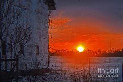 Design Turnpike Books Rights Managed Images - Last Frost Sunrise 2014 Royalty-Free Image by Tina M Wenger