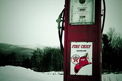 Photograph - Last Gas by Jeff Sinon