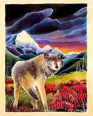 Yellowstone Painting - Last Glance by Harriet Peck Taylor