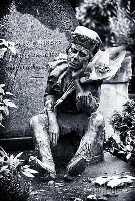 Cemeteries Of Paris Photograph - Last Laugh by John Rizzuto