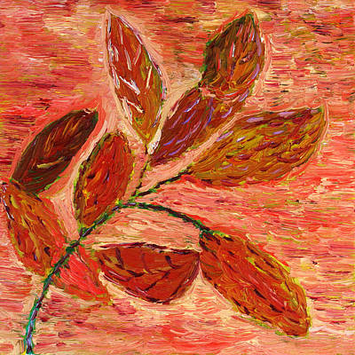 Painting - Last Leaves Of Autumn... by Vadim Levin