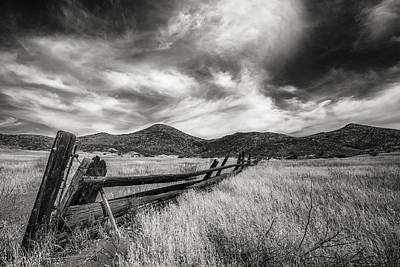 Wooden Fence Photograph - Last Legs by Joseph Smith