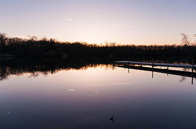 Photograph - Last Light At Cleveland Pond by Lee Costa