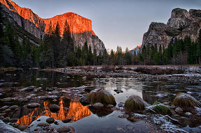Photograph - Last Light At Valley View by Cat Connor
