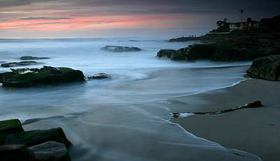 Last Light At Windansea Beach Art Print by Scott Cunningham
