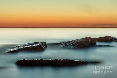 Unable Photograph - Last Light by Chuck Alaimo