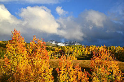 Photograph - Last Light In Telluride by Ray Mathis