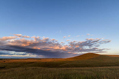 Photograph - Last Light In The Flint Hills by Scott Bean