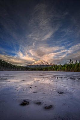 Last Light In The Pacific Northwest Art Print by Rick Berk