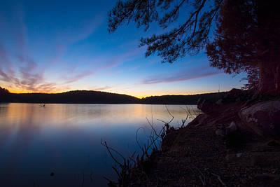 Photograph - Last Light by Nathan Hillis