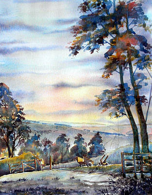 Painting - Last Light Of The Day by Glenn Marshall