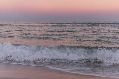 Photograph - Last Light Of The Day Seaside New Jersey by Terry DeLuco