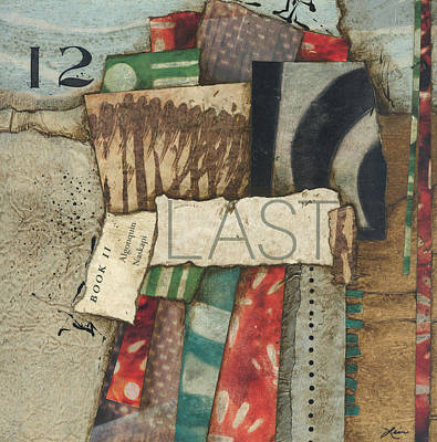 Mixed Media - Last Month 12 by Laura  Lein-Svencner