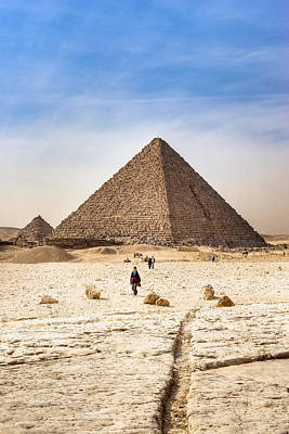 Last Of The Great Pyramids In Egypt Art Print by Mark E Tisdale