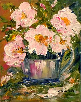 Painting - Last Of The Roses by Barbara Pirkle