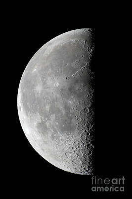 Waning Moon Photograph - Last Quarter Waning Moon by Alan Dyer