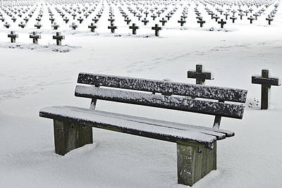 Last Resting Place Of Snowflakes Art Print by Dirk Ercken