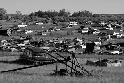 Old Trucks Photograph - Last Ride by David Lee Thompson
