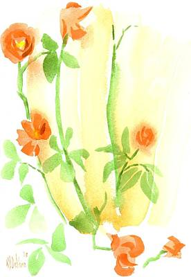 Last Rose Of Summer Art Print by Kip DeVore