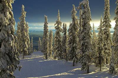 Ski-scape Photograph - Last Run by Brent Magill